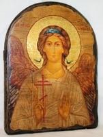 Подарочная икона под старину Ангел Хранитель арка