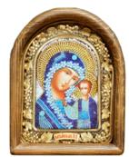 Афонская икона с бисером ИАБ - 00765