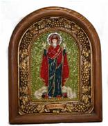 Афонская икона с бисером ИАБ - 00770