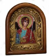 Афонская икона с бисером ИАБ - 00773