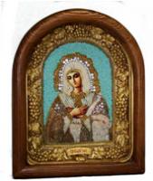 Афонская икона с бисером ИАБ - 00774