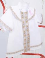 Крестильная рубашка 002