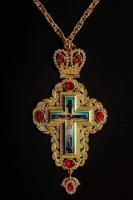Крест наперсный 009