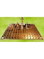 Крышка панихидного стола лат. голгофа 24 свечи