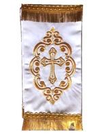 Закладка в Евангелие белая 002