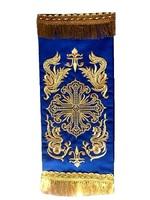 Закладка в Евангелие синяя 001