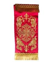Закладка в Евангелие красная 001