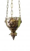 Лампада подвесная с херувимами 001