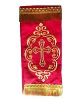 Закладка в Евангелие красная 002
