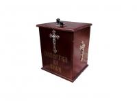 Ящик для пожертв морилка