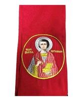 Закладка в Евангелие красная Пантелеймон