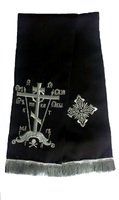 Закладка в Евангелие Голгофа черная