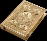Евангелие в окладе золочение 8