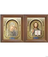 Венчальная пара икон 12х14 см
