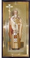 Икона Святой Мефодий ростовая
