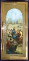 Икона Вход Господний в Иерусалим ростовая