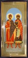 Икона Святые Борис и Глеб ростовая
