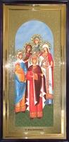 Икона Святые Жены Мироносицы ростовая