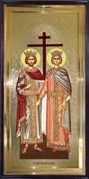 Икона Святые Константин и Елена ростовая