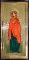 Икона Святая Мученица Валентина ростовая