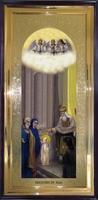 Икона Введение Пресвятой Богородицы ростовая