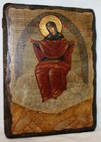 Икона под старину Спорительница хлебов