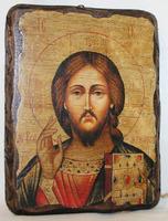 Икона под старину Спаситель