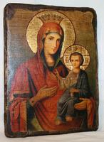Икона под старину Иверская