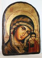 Икона под старину Казанская арка