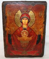 Икона под старину Неупиваемая чаша