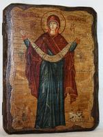 Икона под старину Покров