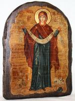 Икона под старину Покров арка