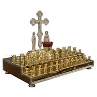Панихидный стол 60 свечек