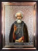 Икона храмовая Святой Преподобный Сергей Рад
