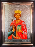 Икона храмовая Святой Царь Константин
