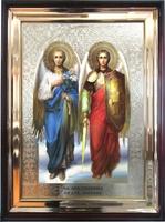 Икона храмовая Святые Архангелы Михаил и Гавриил
