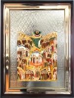 Икона храмовая Собор земли русской