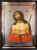 Икона храмовая Спаситель в терновом венце