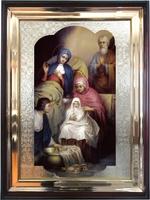 Икона храмовая Рождество Пресвятой Богородицы