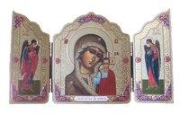 Складень мини Казанская Богородица