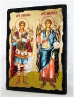 Икона Архангелы Михаил и Гавриил под старину