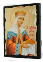 Икона Елена под старину
