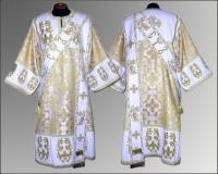 Дияконская риза белая вышивка