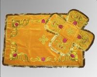 Покровец и воздух желтые вышивка