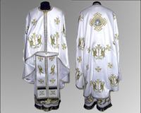 Облачение белое Иерейское грецкий крой вышивка