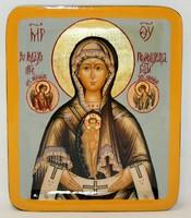 Икона Божья Матерь Помощница в родах