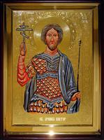 Икона Храмовая полуростовую Виктор