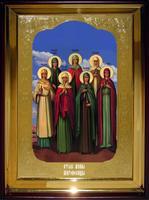 Икона Храмовая полуростовую Жены мироносицы