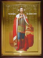 Икона Храмовая полуростовую Александр рост
