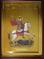 Икона Храмовая полуростовая Георгий